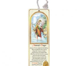 st. christopher bookmark