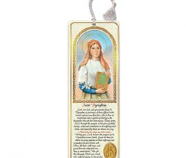 st. dymphna bookmark