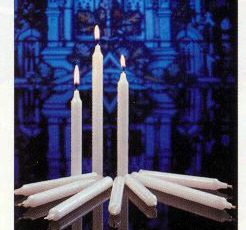 candle light service sets