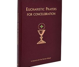 24-22 Eucharistic Prayers for Concelebration