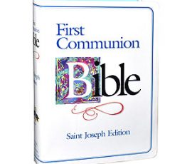 609-22FCB First Communion Bible