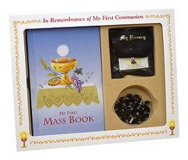 808-56B Boy First Communion Set
