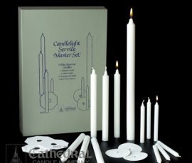 candlelight service set