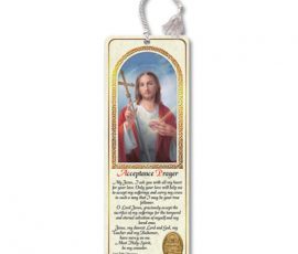 Acceptance Prayer Bookmark