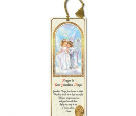 Girl With Guardian Angel Bookmarks