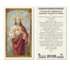 Spanish Sacred Heart Holy Cards