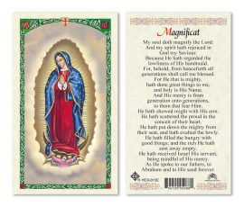 hc9-015e Magnificat Holy Cards