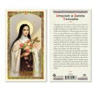 hc9-024s Spanish St. Therese Holy Cards