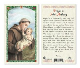 HC9-030 St. Anthony Holy Cards