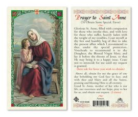 hc9-058e St. Anne Holy Cards