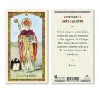 hc9-100s St. Augustine Holy Cards