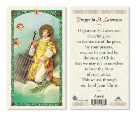 hc9-133e St. Lawrence Holy Cards