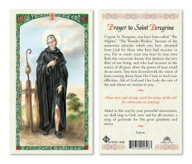 hc9-145e St. Peregrine Holy Cards