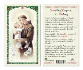 hc9-158e St. Anthony Holy Cards