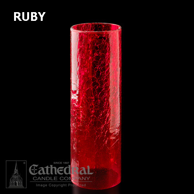 Ruby 14-Day Crackle Cylinder