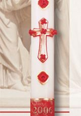 Exultation Paschal Candle