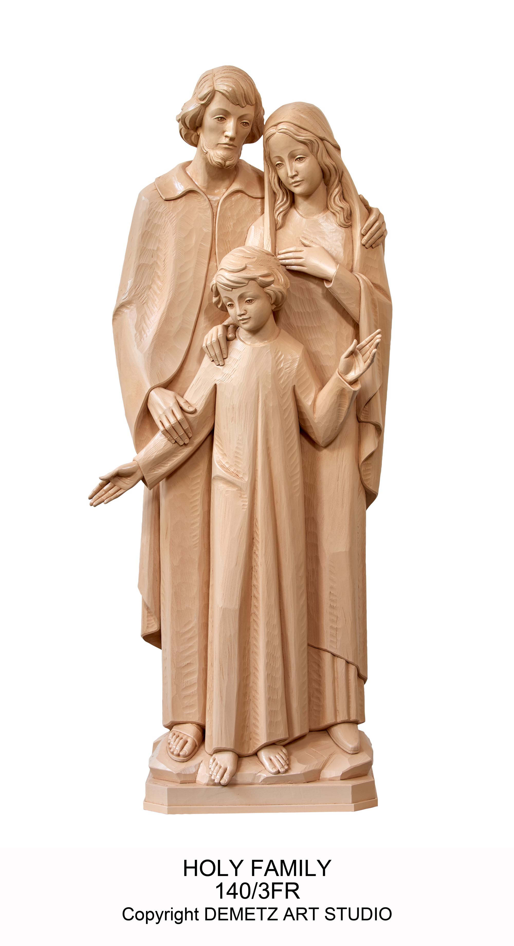Holy Family Statue 140 3fr Mckay Church Goods