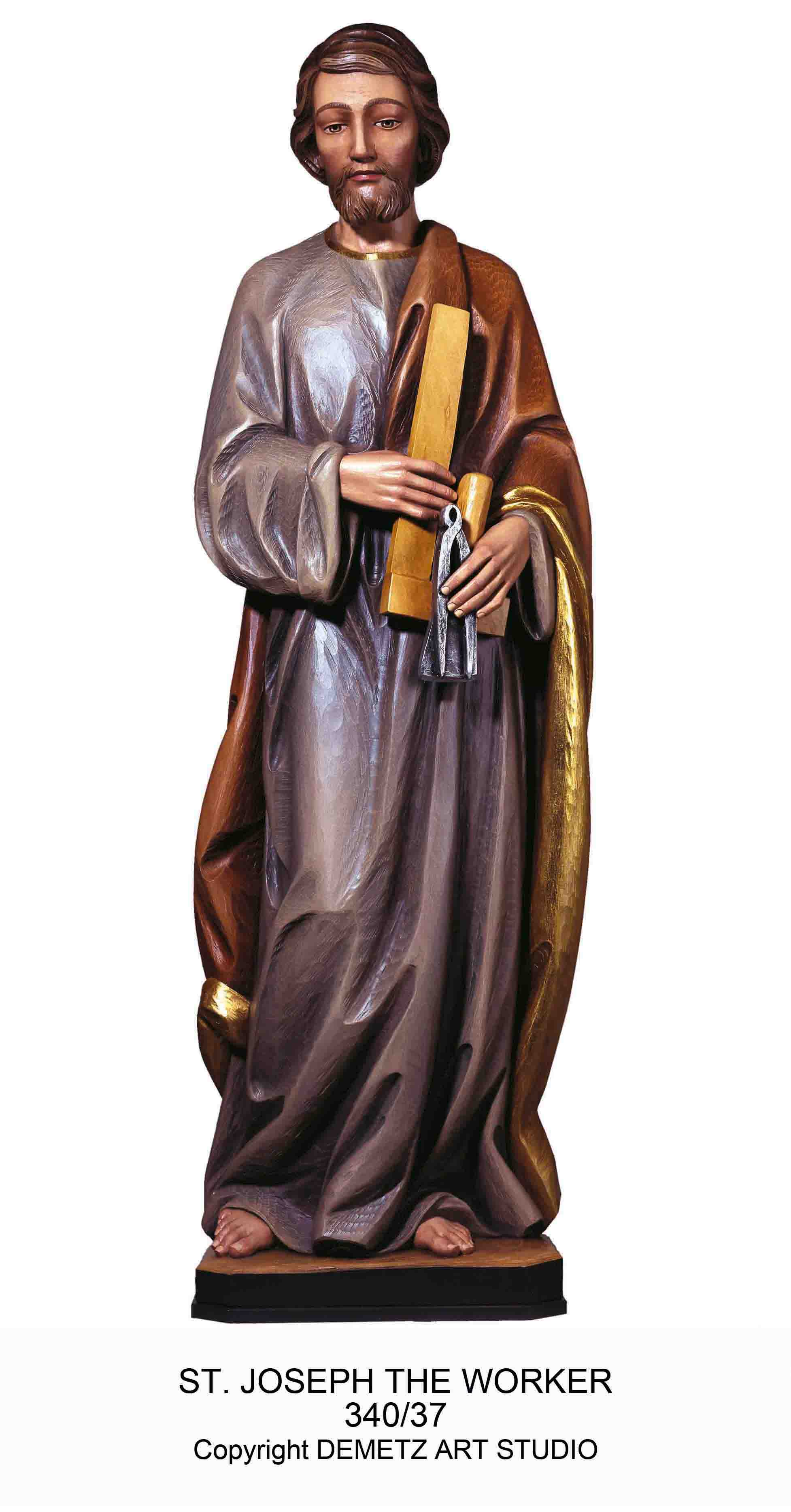 St Joseph The Worker Statue 340 37 Mckay Church Goods