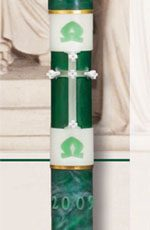 Prophecy Paschal Candle