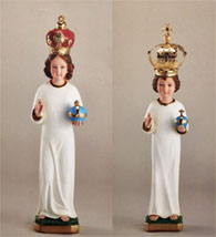 Infant of Prague Statues