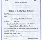 Bilingual Marriage Certificate
