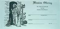 Mission Offering Envelope