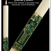 Celtic Paschal Candle