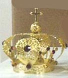 Infant of Prague Crown