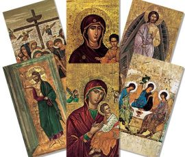 Icon Holy Cards