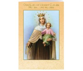 Our Lady of Mt. Carmel Novena Book