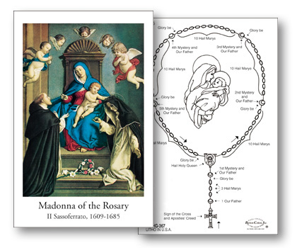 How to Pray Rosary Card