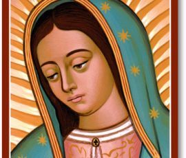 Face of Guadalupe Icon