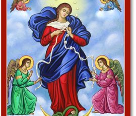 Mary Untier of Knots Icon