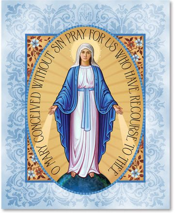 Miraculous Medal Icon