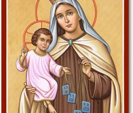 Our Lady of Mt. Carmel Icon