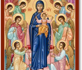 Our Lady Queen of Angels Icon