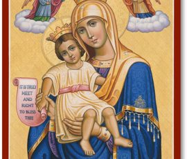 Queen of Heaven Icon