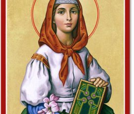 St. Dymphna Icon