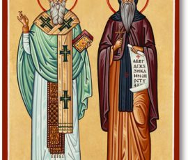 Ss Cyril & Methodius Icon