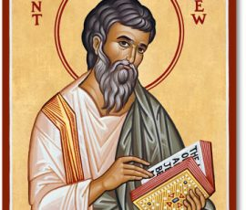 St. Matthew Icon
