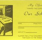 School Offering Envelope