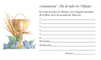 Spanish All Souls Day Envelopes