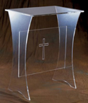 Acrylic Offertory Table
