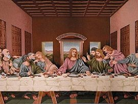 Last Supper Banner
