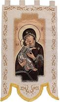 Our Lady of Tenderness Processional Banner