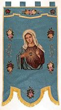 Sacred Heart of Mary Banner