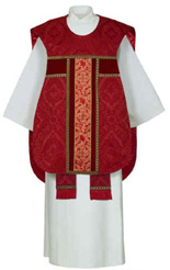 Fiddleback Chasuble