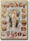 Mysteries of the Rosary Plaque