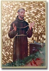 St. Francis of Assisi Plaque