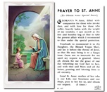 St. Anne Holy Cards